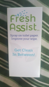Fresh Assist: My bum's best friend!