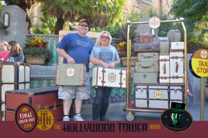 You don't have to ride Tower of Terror to take part in this fun photo opportunity!