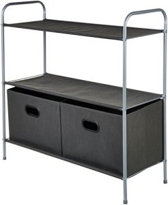 Closet Storage Organizer with Bins
