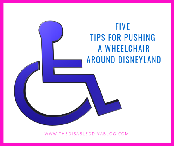 Five tips for pushing a wheelchair around disneyland
