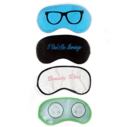 sleep mask 4 pack