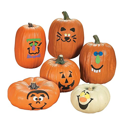 pumpkin decorating kit foam