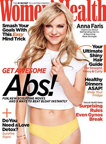 womens health mag may cover