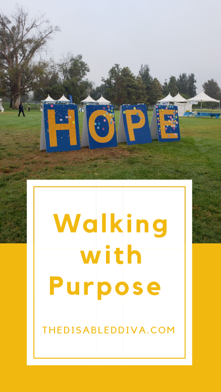 walk with purpose