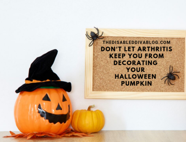 Don't Let Arthritis Keep You From Decorating Your Halloween Pumpkin