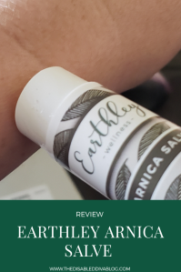 Arnica salve review
