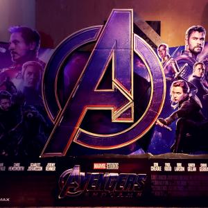 avengers endgame poster from movie theater