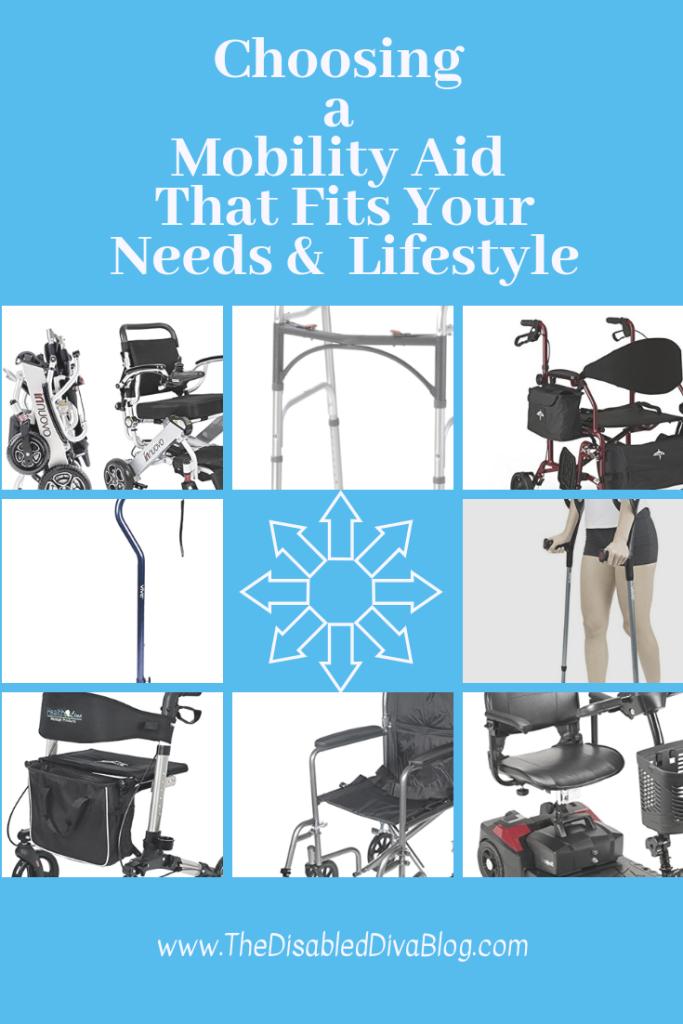 choosing a mobiity aid that fits your needs and lifestyle