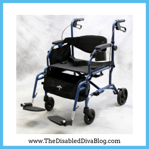 Medline - Excel Translator - Wheelchair and Rollator Combination