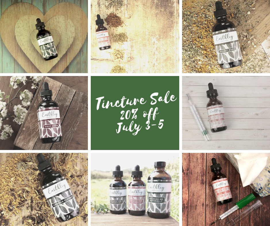 Herbal Tincture Sale! – The Disabled Diva's Blog