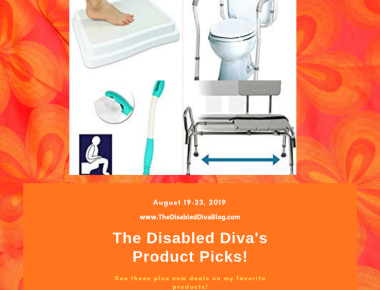 The Disabled Diva's Product picks for bathroom safety