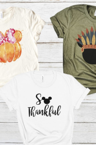 a mickey mouse thanksgiving