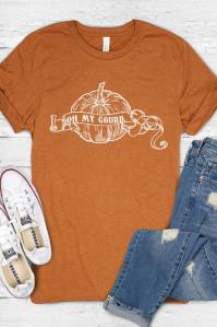 oh my gourd thanksgiving tshirt