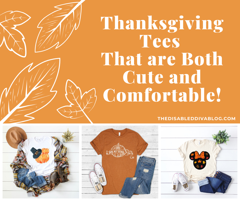 Thanksgiving Tees That are Both Cute and Comfortable!