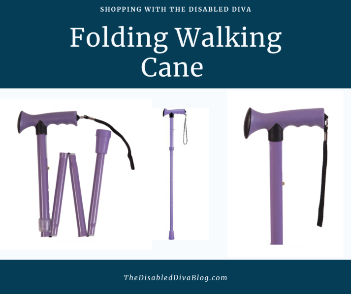 Lavender walking cane
