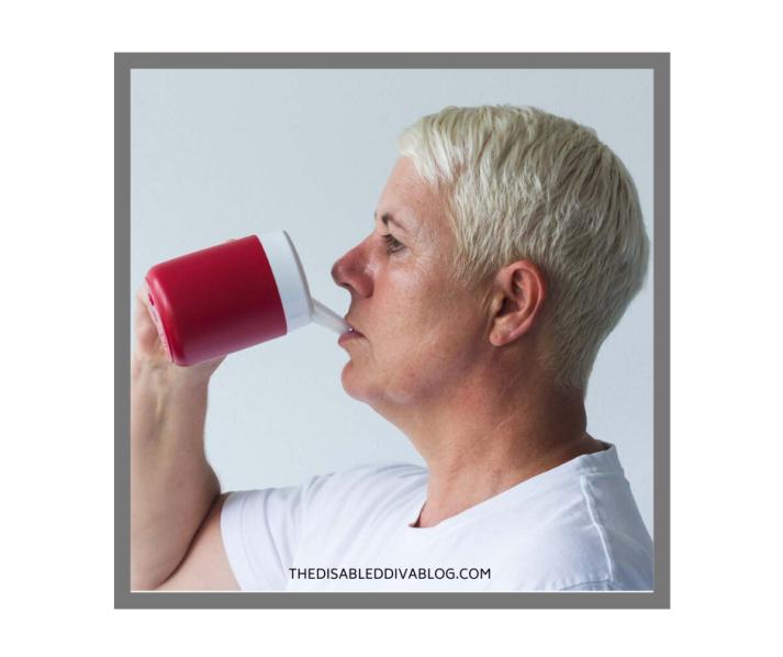 Thermo Mug, Drinking aid, Feeding Cup