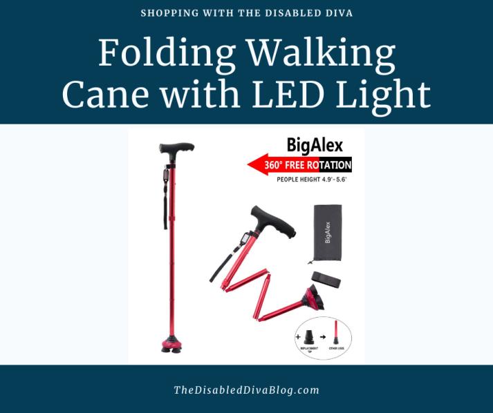 led cane