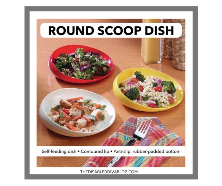 Round Scoop Dish
