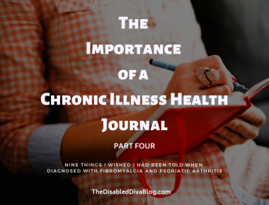 The Importance of a Chronic Illness Health Journal