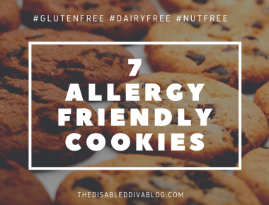 seven allergy friendly cookies